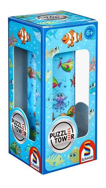 puzzle tower f r kinder unterwasserwelt kinderpuzzle. Black Bedroom Furniture Sets. Home Design Ideas