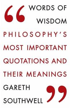 Words of Wisdom (eBook, ePUB) - Southwell, Gareth