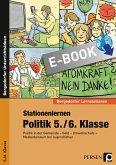 Stationenlernen Politik 5./6. Klasse (eBook, PDF)