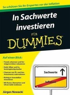 In Sachwerte investieren für Dummies (eBook, ePUB) - Nowacki, Jürgen