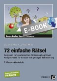 72 einfache Rätsel (eBook, PDF)