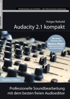 Audacity 2.1 kompakt - Reibold, Holger