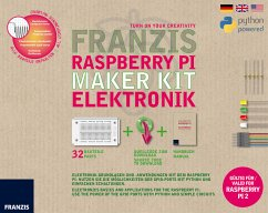 Franzis Raspberry Pi Maker Kit Elektronik, 32Ba...