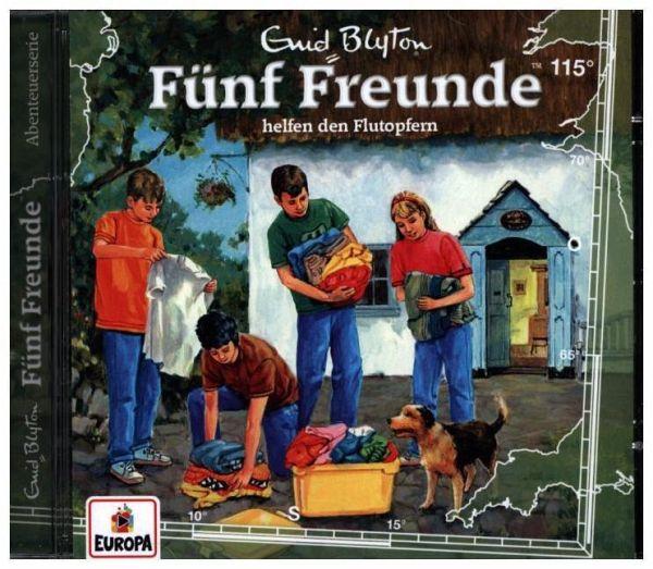 Fünf Freunde helfen den Flutopfern, 1 Audio-CD