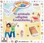 40 schönste religiöse Kinderlieder, 2 Audio-CD