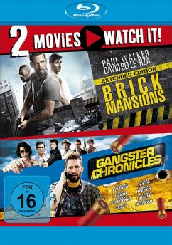 Brick Mansions - Gangster Chronicles - 2 Disc Bluray