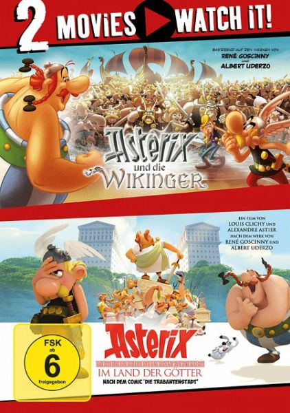 Asterix Und Die Wikinger Asterix Im Land Der Gotter 2 Discs Auf
