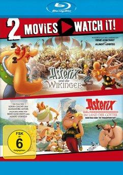Asterix und die Wikinger / Asterix im Land der Götter - 2 Disc Bluray