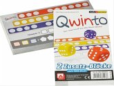 Asmodee NBGD0082 - Qwinto, Zusatz-Blöcke, 2 Stück a 80 Blatt, Würfelspiel