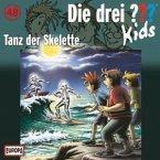 Tanz der Skelette / Die drei Fragezeichen-Kids Bd.48 (Audio-CD)