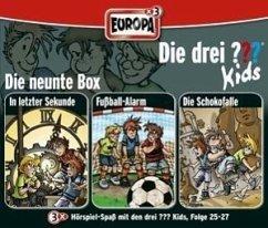 Die drei ???-Kids, 3er Box, 3 Audio-CDs - Pfeiffer, Boris; Blanck, Ulf