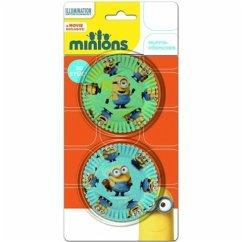 Minions 30 Muffinförmchen auf Blisterkarte