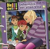 Geheimnis der alten Villa / Die drei Ausrufezeichen Bd.42 (Audio-CD)