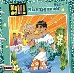 Nixensommer / Die drei Ausrufezeichen Bd.43 (Audio-CD)
