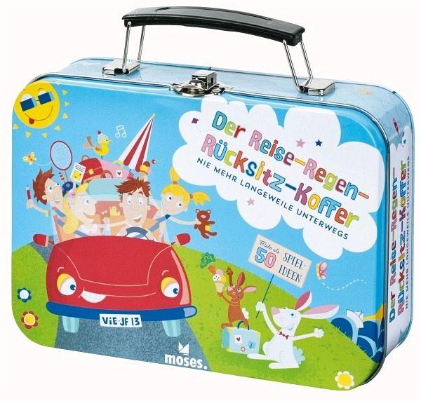 Der reise regen rücksitz koffer buecher