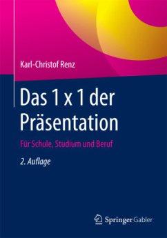 Das 1 x 1 der Präsentation - Renz, Karl-Christof