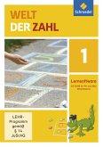 1. Schuljahr, 1 CD-ROM / Welt der Zahl, Allgemeine Ausgabe 2015 Bd.1