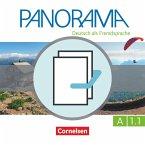 Panorama A1: Teilband 1 - Kursbuch und Übungsbuch DaZ