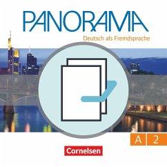 Panorama A2: Gesamtband - Kursbuch und Übungsbuch DaZ - Böschel, Claudia; Finster, Andrea; Jin, Friederike; Paar-Grünbichler, Verena; Winzer-Kiontke, Britta