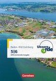 Unsere Erde Band 1: 5./6. Schuljahr - Differenzierende Ausgabe Baden-Württemberg - Schülerbuch mit Online-Angebot