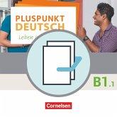 Pluspunkt Deutsch B1: Teilband 1 - Arbeitsbuch und Kursbuch