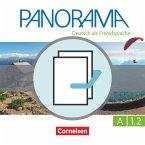 Panorama A1: Teilband 2 - Kursbuch und Übungsbuch DaZ
