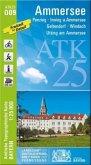 Amtliche Topographische Karte Bayern Ammersee
