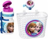 Frozen – Die Eiskönigin Korb-,Trinkflasche-, Klingel-Set