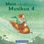 4. Schuljahr, 2 Audio-CDs / Mein neuer Musikus