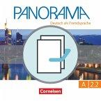 Panorama A2: Teilband 2 - Kursbuch und Übungsbuch DaZ