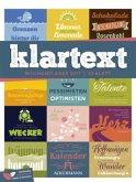 Klartext 2017 - Wochenplaner