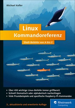 Linux Kommandoreferenz (eBook, PDF)