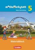 mathewerkstatt - Mittlerer Schulabschluss Band 5 - Baden-Württemberg - Materialblock