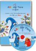 1. Schuljahr, Lesen- und Schreibenlernen mit Sil und Ben Version 2.1, 1 CD-ROM, CD-ROM / ABC der Tiere, Neubearbeitung 2016