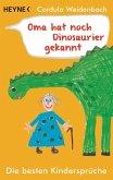 Oma hat noch Dinosaurier gekannt (eBook, ePUB)