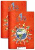 ABC der Tiere 1 - Arbeitsheft Druckschrift, Teil A und B. Neubearbeitung