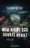 Wer nicht das Dunkel kennt / Louis & Salomon Bd.3 (eBook, ePUB)
