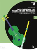 Improvisation 101: Major, Minor and Blues, C-Instrumente, m. Audio-CD