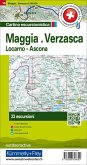 Maggia Verzasca Locarno Ascona Nr. 18 Touren-Wanderkarte 1:50 000