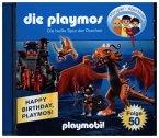 Die heiße Spur der Drachen / Die Playmos Bd.50 (1 Audio-CD)