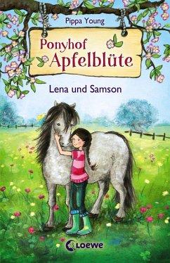 Lena und Samson / Ponyhof Apfelblüte Bd.1 (eBook, ePUB) - Young, Pippa