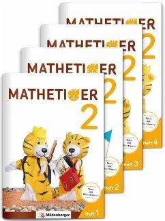Mathetiger 2 - Jahreszeiten-Hefte - Neubearbeitung - Laubis, Thomas; Schnitzer, Eva