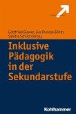 Inklusive Pädagogik in der Sekundarstufe (eBook, ePUB)