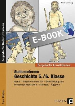 Stationenlernen Geschichte 5./6. Klasse - Band 1 (eBook, PDF) - Lauenburg, Frank