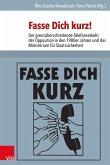 Fasse Dich kurz! (eBook, PDF)