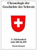 Chronologie Schweiz 9 (eBook, ePUB)