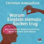 Warum Einstein niemals Socken trug, 4 Audio-CDs