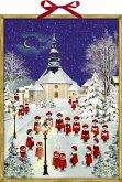 Weihnacht im Erzgebirge Wand-Adventskalender