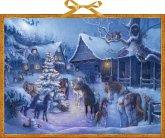 Weihnachten auf dem Pferdehof. Adventskalender