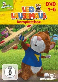 Leo Lausemaus - Komplettbox (6 Discs)